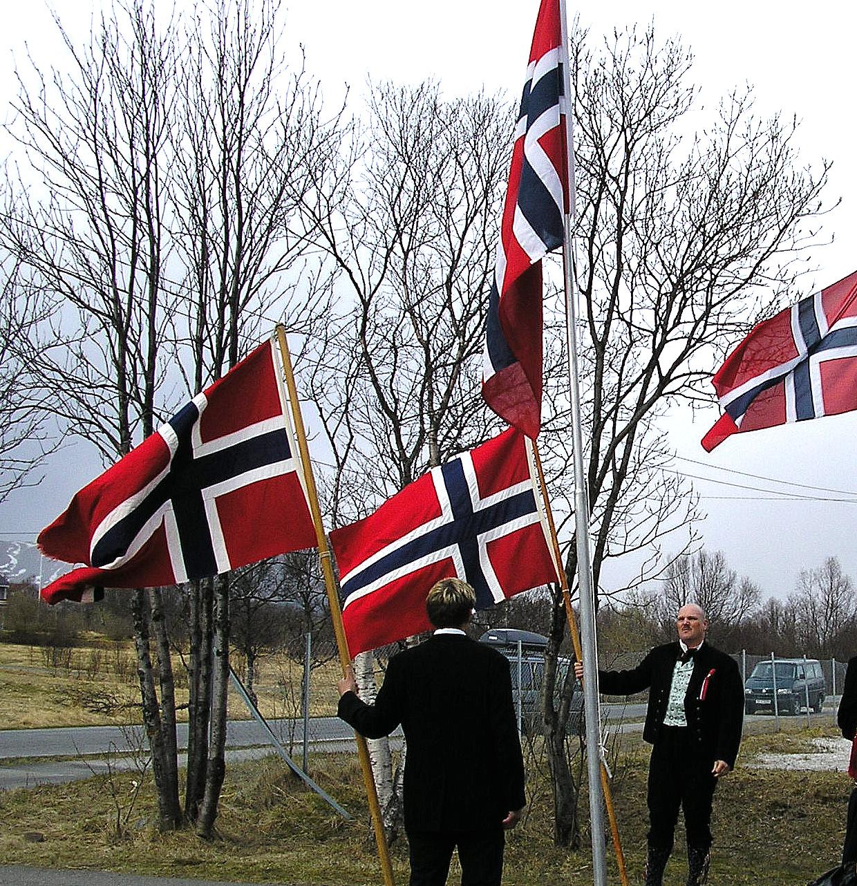 Flagge Norwegens