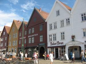 Bryggen in Bergen, Foto: Peter Herborg