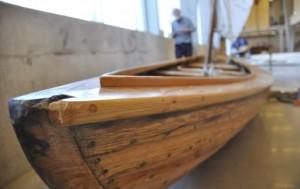 Historische Schiffe im Oslofjord-Museum.