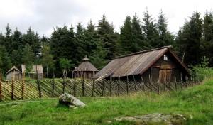 Rekonstruktion von Hofgebäuden auf Bukkoya