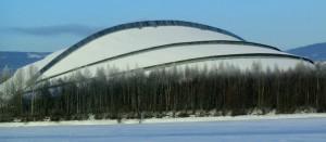 Olympiahalle Vikingskipet in Hamar