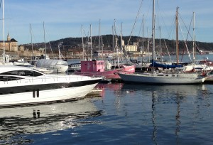 "Moors of Norway ""Kutter"" im Hafen von Aker Brygge"