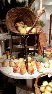 Nein, keine Äpfel sondern Kerzen