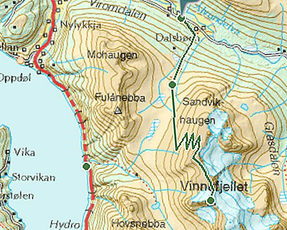 Dronningkrona-Karte