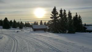Loipen satt - Nordseter bei Lillehammer