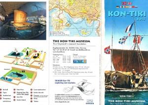 Kon-Tiki Museumsflyer