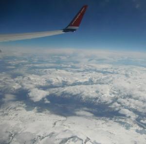 Mit Norwegian über Fjordnorwegen