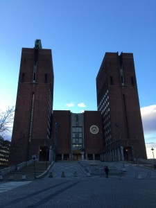 Oslo - Rathaus