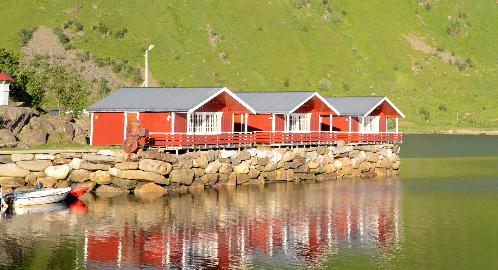Rorbuer - die Hütten der norwegischen Fischer - Norwegenstube