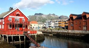 Alter Hafen von Kabelvåg