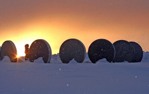 Am Nordkap - Denkmal der Kinder der Welt
