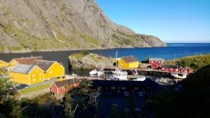 Nusfjord: Hafen