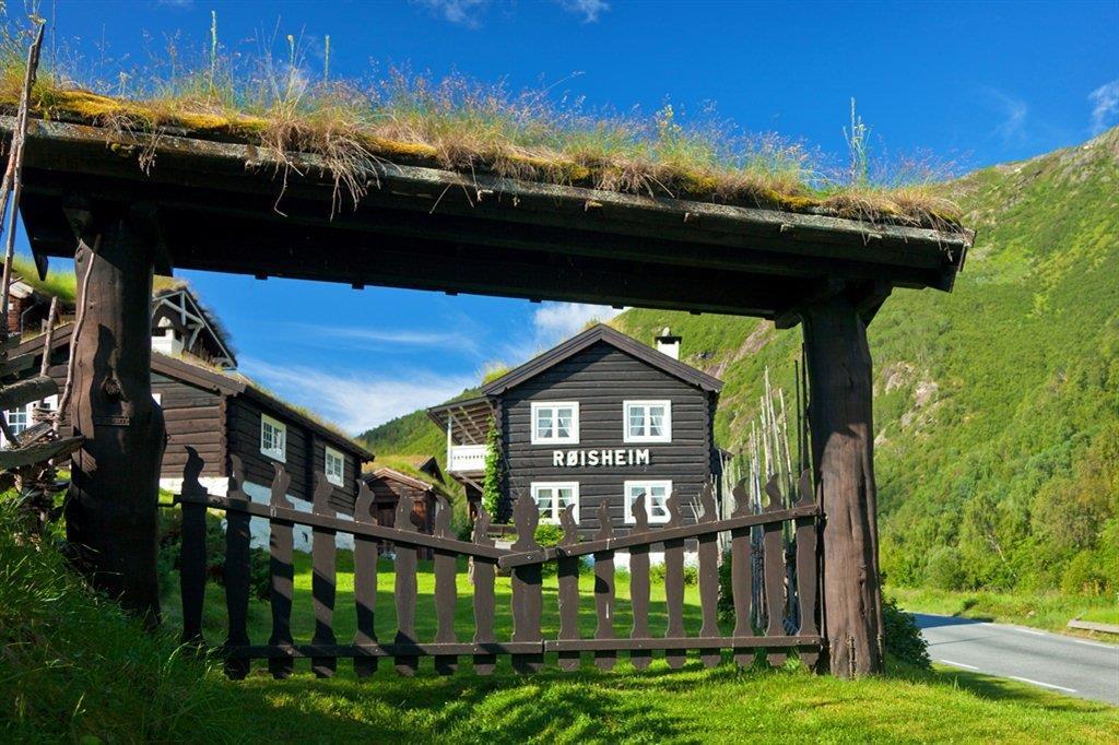 Das Røisheim Hotel am Rande des Jotunheimen-Nationalparks.  Foto: EspenMills/ Tasteofnationaltouristroutes.com