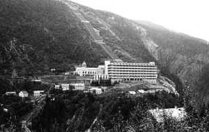 Norsk Hydro: Chemie- und Wasserkraftwerk Vemork bei Rjukan (Telemark)