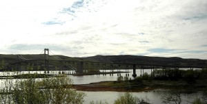 Ofoten: Die Tjeldsund-Brücke