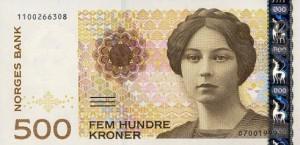 Norwegische Banknoten: 500 NOK