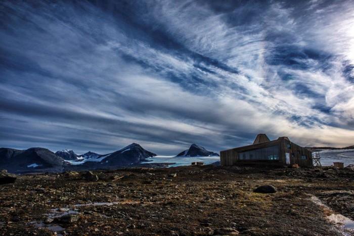 Willkommener Anblick auf langen Wanderungen. Foto: Jan Inge Larsen