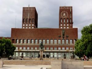 Oslo Rathausplatz Foto: Kirsten Henckel