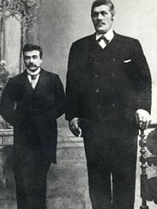 Stor Johan und Lauritz Nilsen