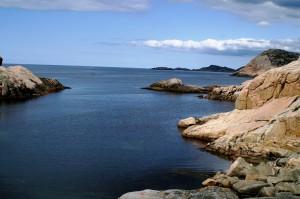 Küste bei Cap Lindesnes Foto: Kirsten Henckel