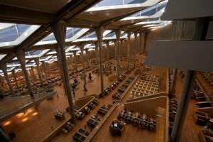 Bibliotheka Alexandrina in Ägypten (Quelle: Wikipedia)