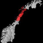 Die Provinz Nordland (Quelle: wikipedia)