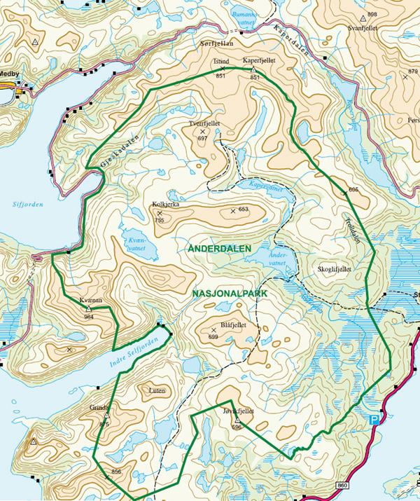 Ånderdalen- Nationalpark
