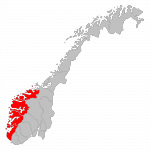 Vestlandet in Norwegen (Bild: wikipedia)