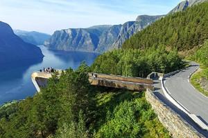 Landschaftsrouten: Aurlandsfjellet