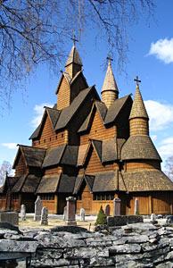 Stabkirche Heddal in der Telemark. Foto: Visit Norway.