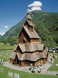 Die Stabkirche in Borgund. Foto: Visit Norway