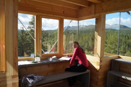 Zeit und Muse bei der Elchbeobachtung. Foto: Visit Norway.