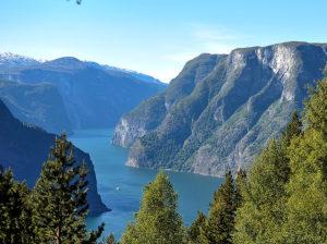 Fjordnorwegen - Auerlandsfjord