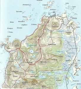 Karte Dronningruta