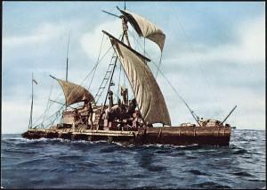 Expedition Kon-Tiki 1947, Foto: Nasjonalbiblioteket