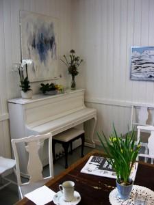 Im Café der Nærstasjon