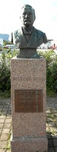 Hurtigruten-Museum-Denkmal