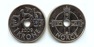 1 Norwegische Krone