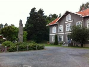 Ehemalige Schule und Denkmal