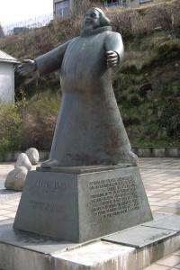Petter Dass-Denkmal