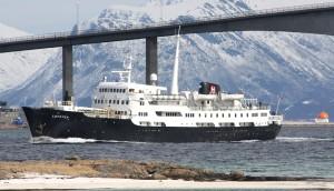 Schiffe der Hurtigruten - MS Lofoten