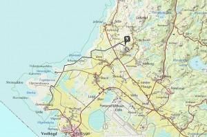 Von Nordberg Fort nach Lista Fyr
