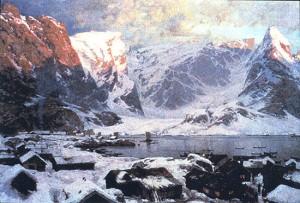 "Otto Sinding ""Fra Reine i Lofoten"" (1883)"