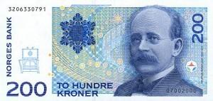 Norwegische Banknoten: 200 NOK