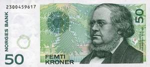 Norwegische Banknoten: 50 NOK