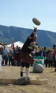 Highland Games auf den Vesterålen