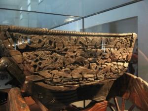 Faszinierende Kultur der Wikinger, Detail eines Wagens