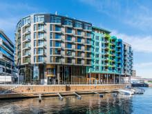 """""""The thief"""" ist Landmarke im hippen Hafenviertel Oslos. Foto: Visit Norway"""