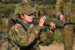 Wehrpflicht für Frauen