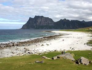Lofoten - Strand von Haukland
